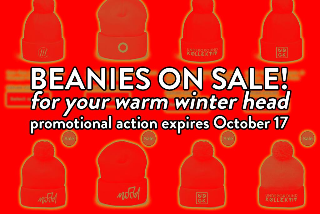 Beanies On Sale!